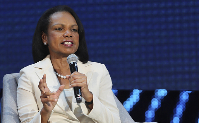 美国前国务卿莱斯(Condoleezza Rice)(美联社)