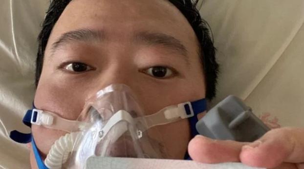北京时间2月7日凌晨,李文亮医生因新型冠状病毒感染的肺炎而离世,享年35岁。(微博截图)