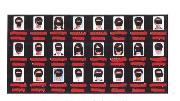 中国黑客入侵台湾大学,窃取六万七千张个人资料照片。 (美国司法部起诉书)