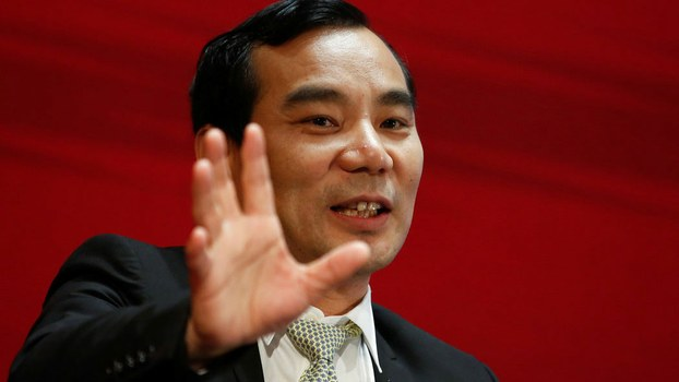 中国安邦集团前董事长吴小晖(路透社)