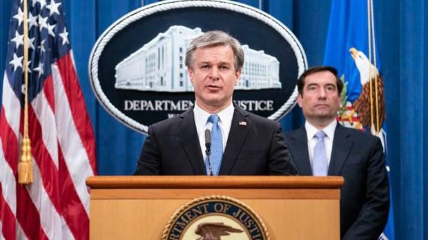 """美司法部起诉两名""""猎狐行动""""参与者    撤销对唐娟的指控"""