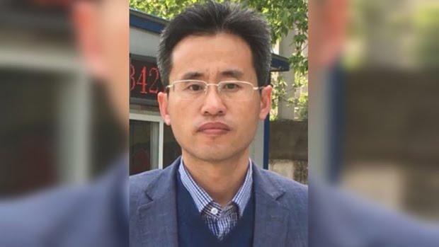 最近被捕的山东维权律师、齐鲁工业大学讲师刘书庆(刘书庆提供,拍摄时间不详)