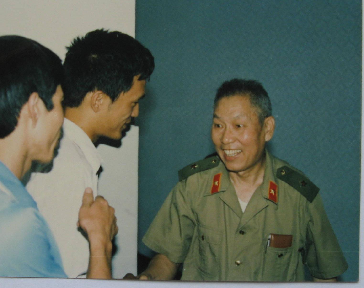 朱韵和——当年穿军装的89一代