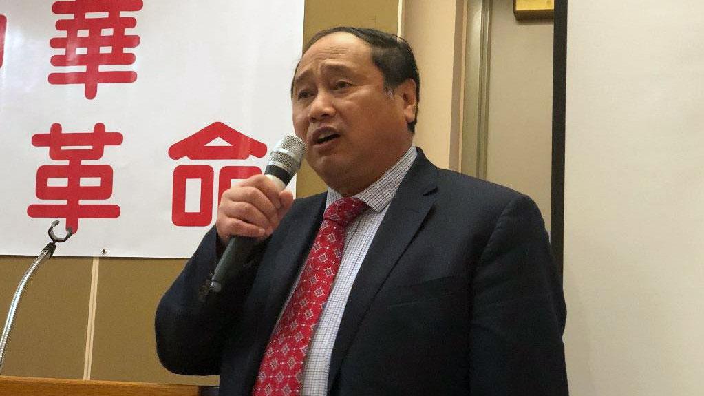 中国民主党全国委员会主席王军涛(CK摄)