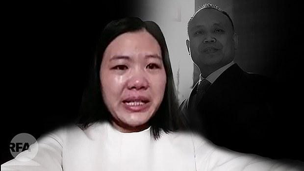 """三年来首次会见    余文生对许艳说:""""老婆我爱你!"""""""