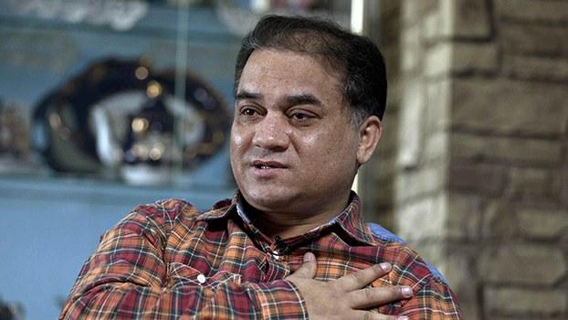 维吾尔族学者伊力哈木·土赫提(Ilham Tohti)(美联社)