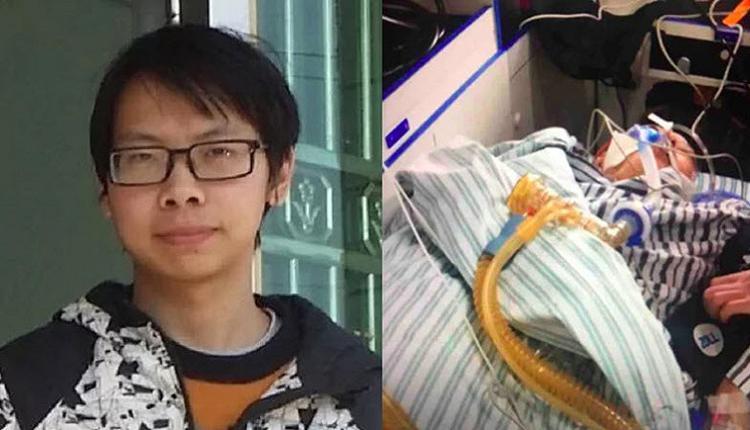 吴葛健雄(左)被湖南当局扣押,最终也没有见到母亲最后一面。(推特图片)