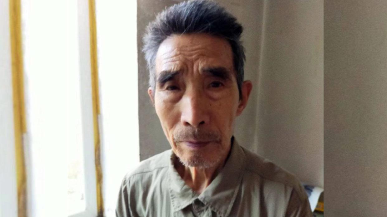 年过八十的郭宏伟父亲郭荫起。(郭荫起独家提供,拍摄日期不详 )