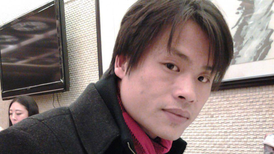 湖南作家马萧是零八宪章的签署人之一,长期撰文关注政治犯。(被访者独家提供,拍摄日期不详)