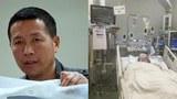 左圖:被吊銷執業證的北京維權律師唐吉田過去十年來一直不能自由出境。(美聯社);右圖:近期唐吉田旅居日本的女兒身患重病。(民生觀察)
