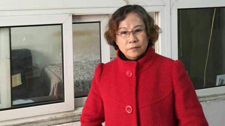 資料圖片:曾代理709案的律師李昱函。(中國政治犯關注網站)