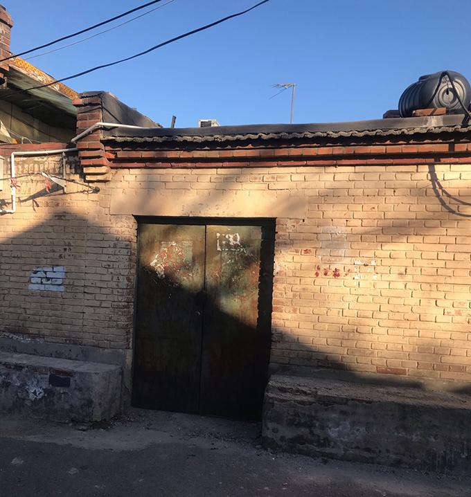杜斌在北京大興區黃村鎮的房子。外界相信,杜斌從這裏被公安帶走。(劉華獨家提供)