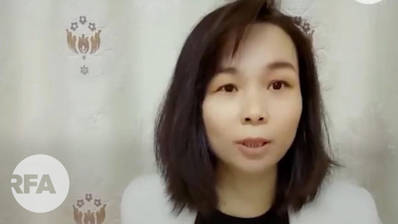 覃永沛妻子邓晓云(视频截图)