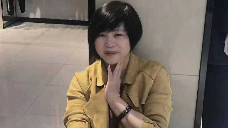 林应强妻子张惠仙(图)表示,丈夫以往曾多次入狱,家里的生计困难。 (张惠仙提供,拍摄日期不详)