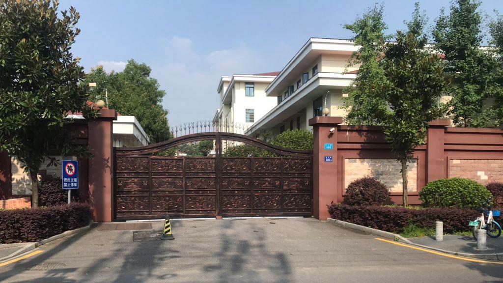 2020年7月14日,长沙富能案三名涉案人被囚禁在湖南省国安厅看守所(图)。(推特图片)