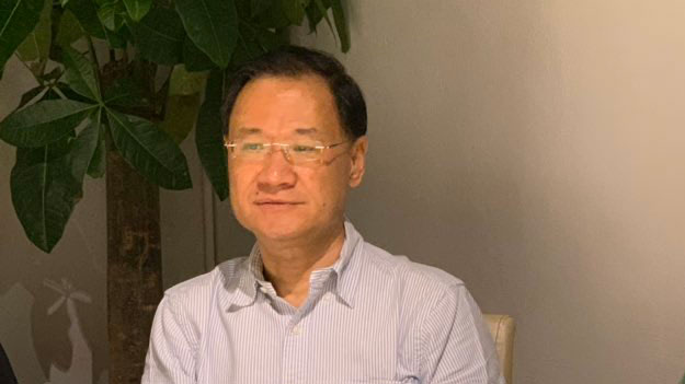许章润教授(推特图片)