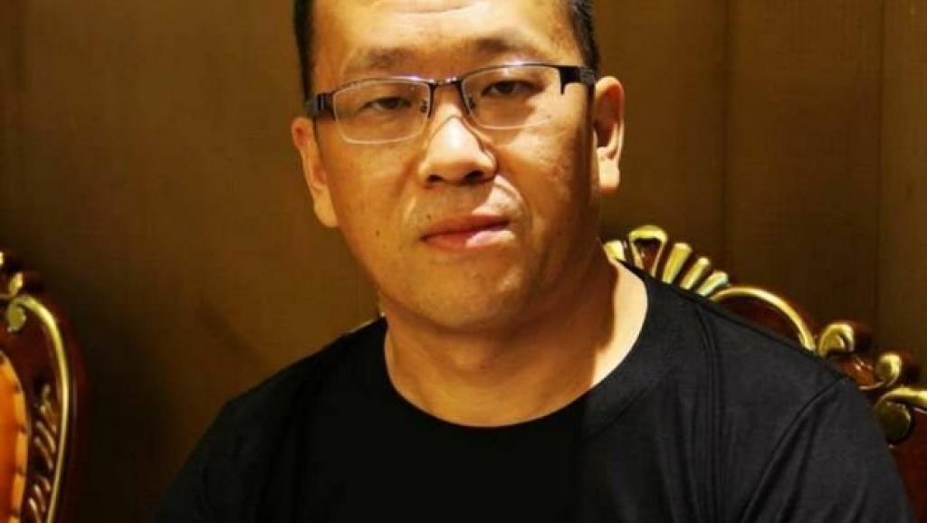 广州律师隋牧青收到当局的警告,不要在世界律师大会举行期间发表不利政府的言论。(资料图/推特图片)