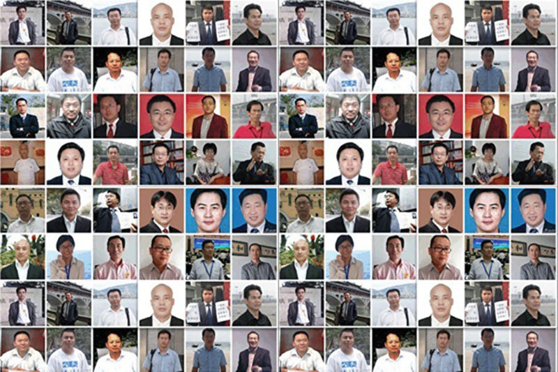 2015年7月9日,中共在20多个省市,大肆抓捕维权律师、家属、维权公民,人数高达320多人。(推特图片)