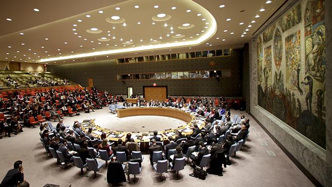 資料圖片:聯合國人權理事會正在美國紐約舉行會議(美聯社)
