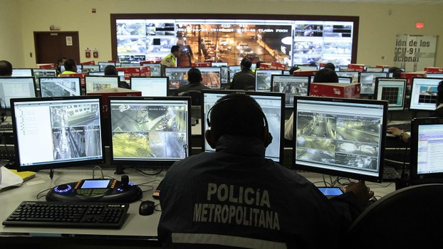 中国制造的ECU-911监控系统(法新社)
