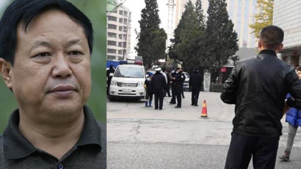 2020年11月11日,中国河北警方派出大批特警包围大午集團,並抓走包括集团创始人孙大午(左)在內的十多名高管。(知情人提供)