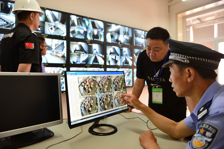 现时中国监控率及范围已经相当广泛。 (路透社图片)