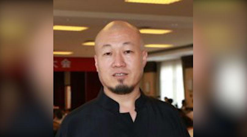 石家庄网民孙愿平被限制出境。(推特图片)