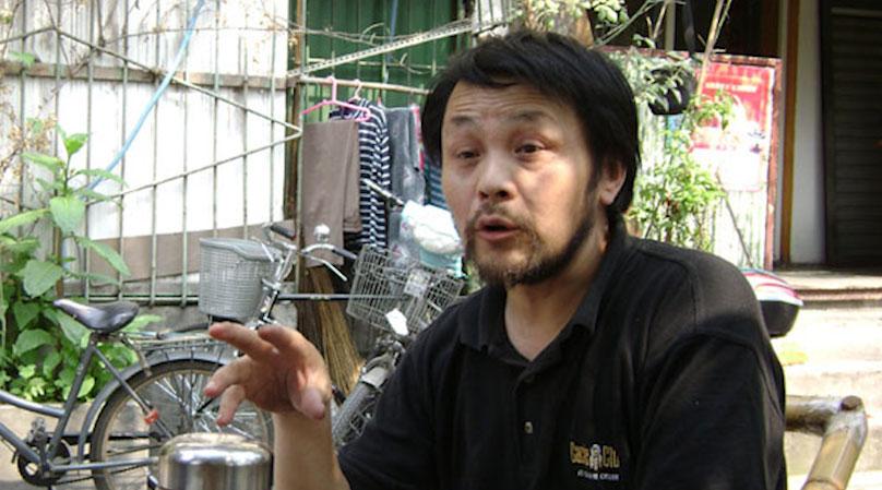 四川环保作家谭作人。(资料图/北京之春)