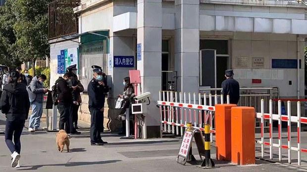 12月23日,徐昆寻衅滋事案在昆明盘龙区法院开庭。(photo:RFA)