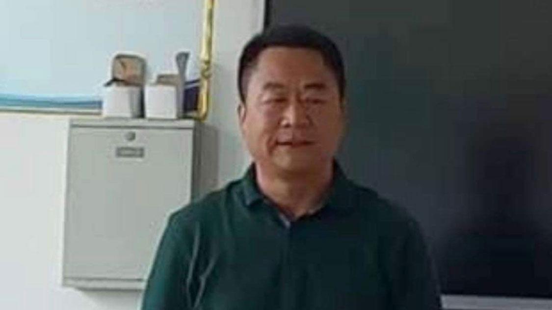 山东曹县王集镇副镇长李进。(手机截图/乔龙提供)