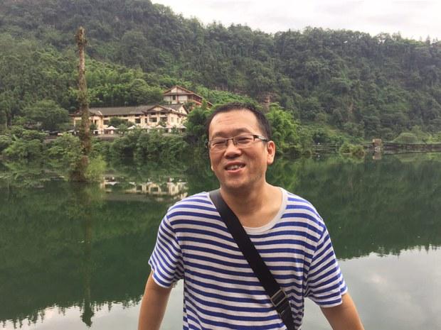 广州著名维权律师隋牧青。(public domain)