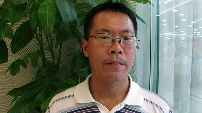 中國人權律師滕彪(美聯社)