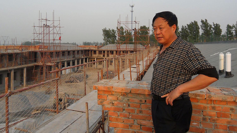 中国企业家孙大午。(美联社)