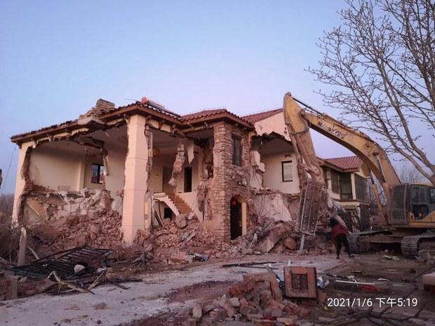 北京小汤山强拆:小区被拆毁殆尽  留守者遭打伤