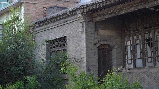 2017年5月,河北容城平王乡的一间传统民居。(photo:RFA)