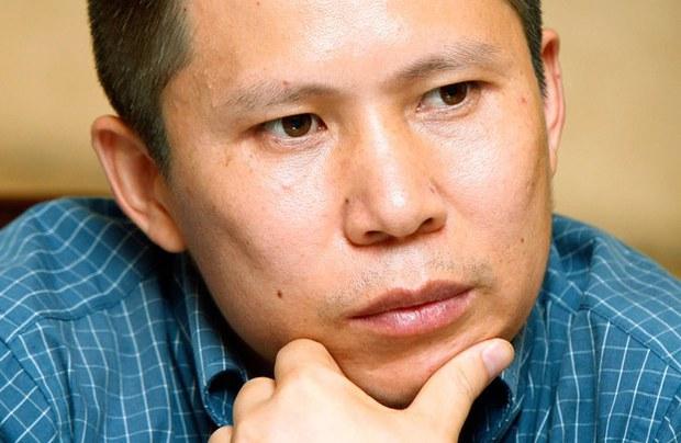 中国人权活动人士许志永(美联社)