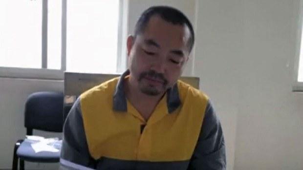 中国维权律师丁家喜(推特截图)