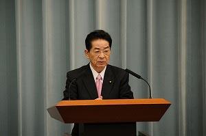 图片:日本内阁官房长官仙谷由人在19号的记者会上表示将致力于与中国下一代领导人构建关系。(南洲提供)