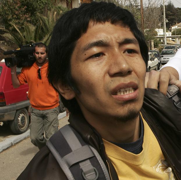 资料图片:美国国际宗教自由委员会前主席丹增多吉 (Tenzin Dorjee)(美联社)