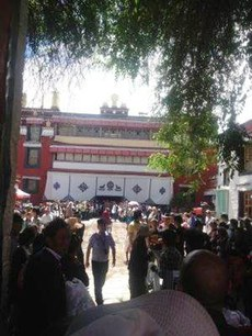 Tibetans-gathering-at-Tsuklhakhang-on-20th-June.jpg