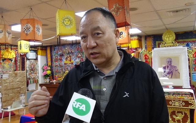 藏人行政中央驻台代表达瓦才仁。(记者夏小华摄)