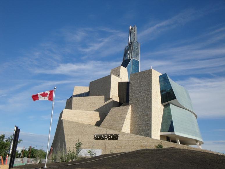 加拿大人权博物馆。  (网上图片)