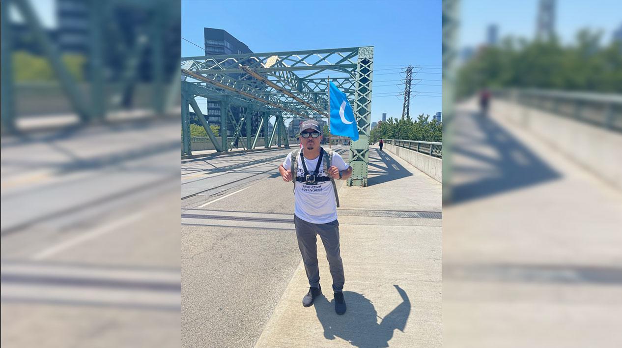 加拿大维吾尔人15天走380公里 欲求渥太华正视维吾尔危机 — 普通话主页