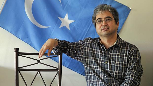 """""""美国维吾尔协会""""主席伊利夏提.哈桑 (Ilshat Hassan) (美联社)"""