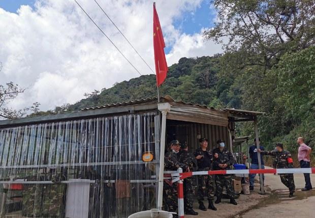 中缅边界中方布地雷防偷渡 被指违国际公约