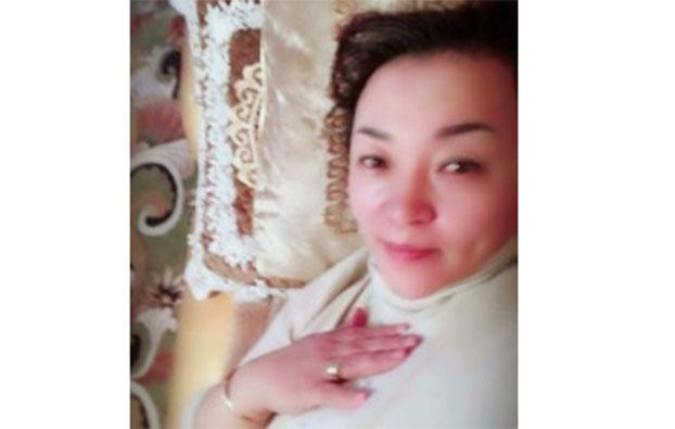 新疆清河县医院护士长沙吾列.米勒太,在教育营羁押期间残疾。(家属提供/记者乔龙)