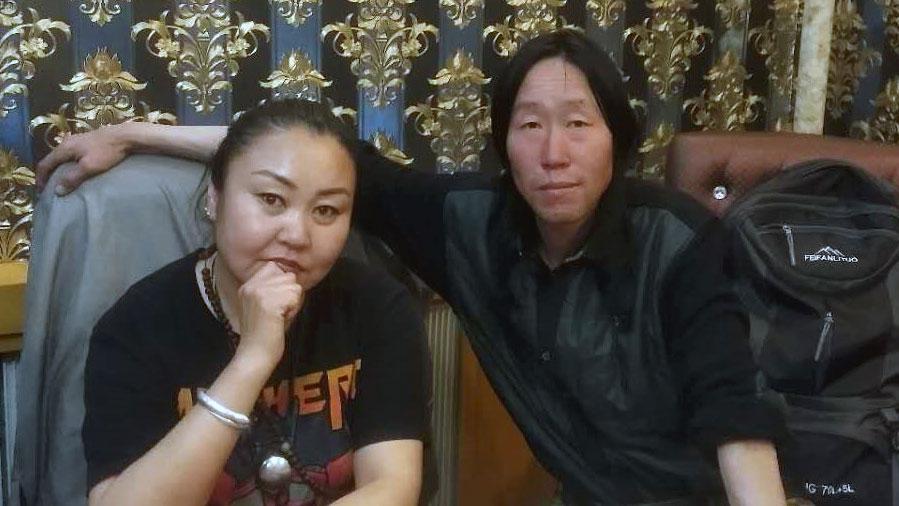 蒙古族维权人士杨金都丽玛。(志愿者提供/记者乔龙)