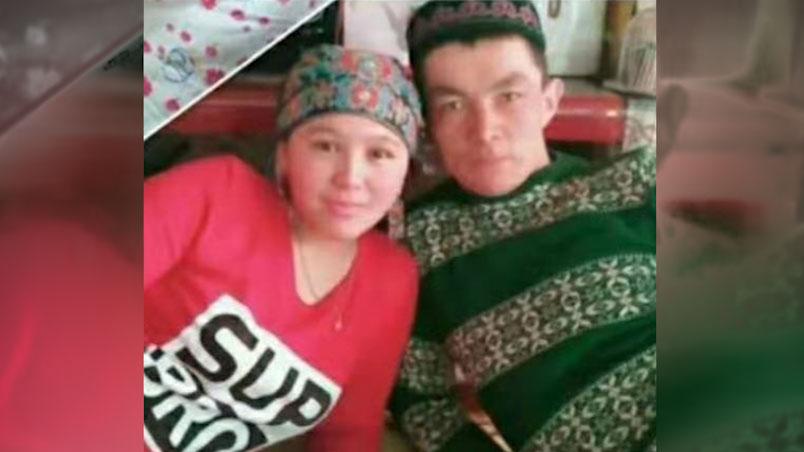 木拉提别克和妻子阿米娜。(志愿者提供/记者乔龙)