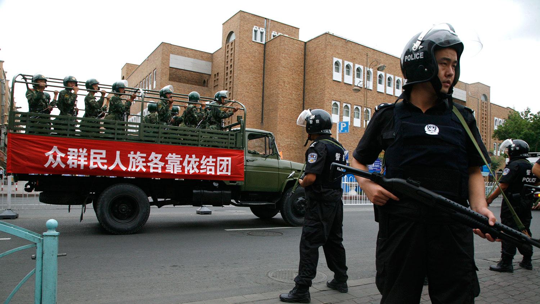 十一国庆前新疆再次大抓捕(资料图/美联社)