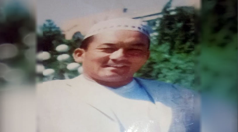 伊斯兰教阿訇阿合依提.波丁拜被判刑20年。(志愿者提供/记者乔龙)